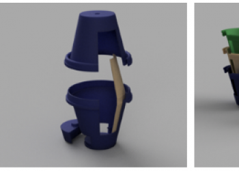 A Better Way to Go – MakerSpace TA and Stern MBA Create a Better Porta Potty to Win the InnoVention Competition