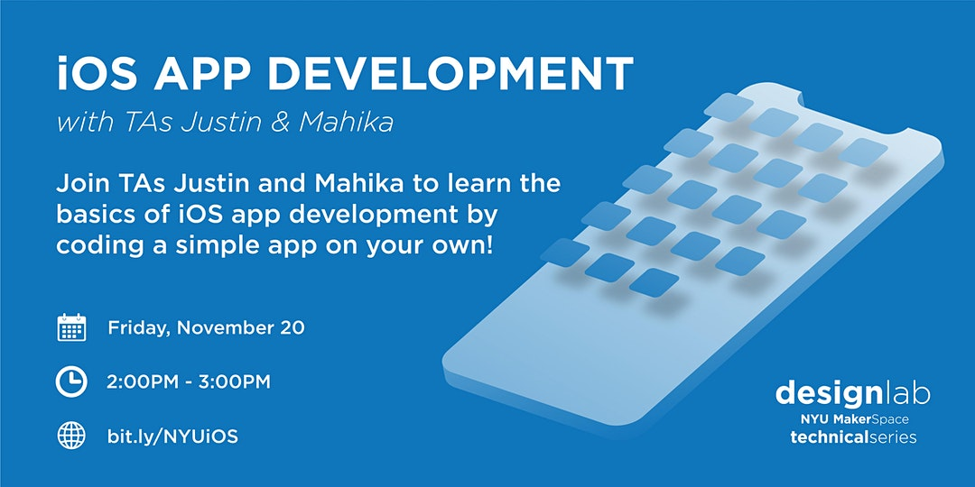 iOS App Development Workshop Flyer