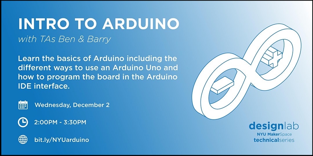 Intro to Arduino Workshop Flyer