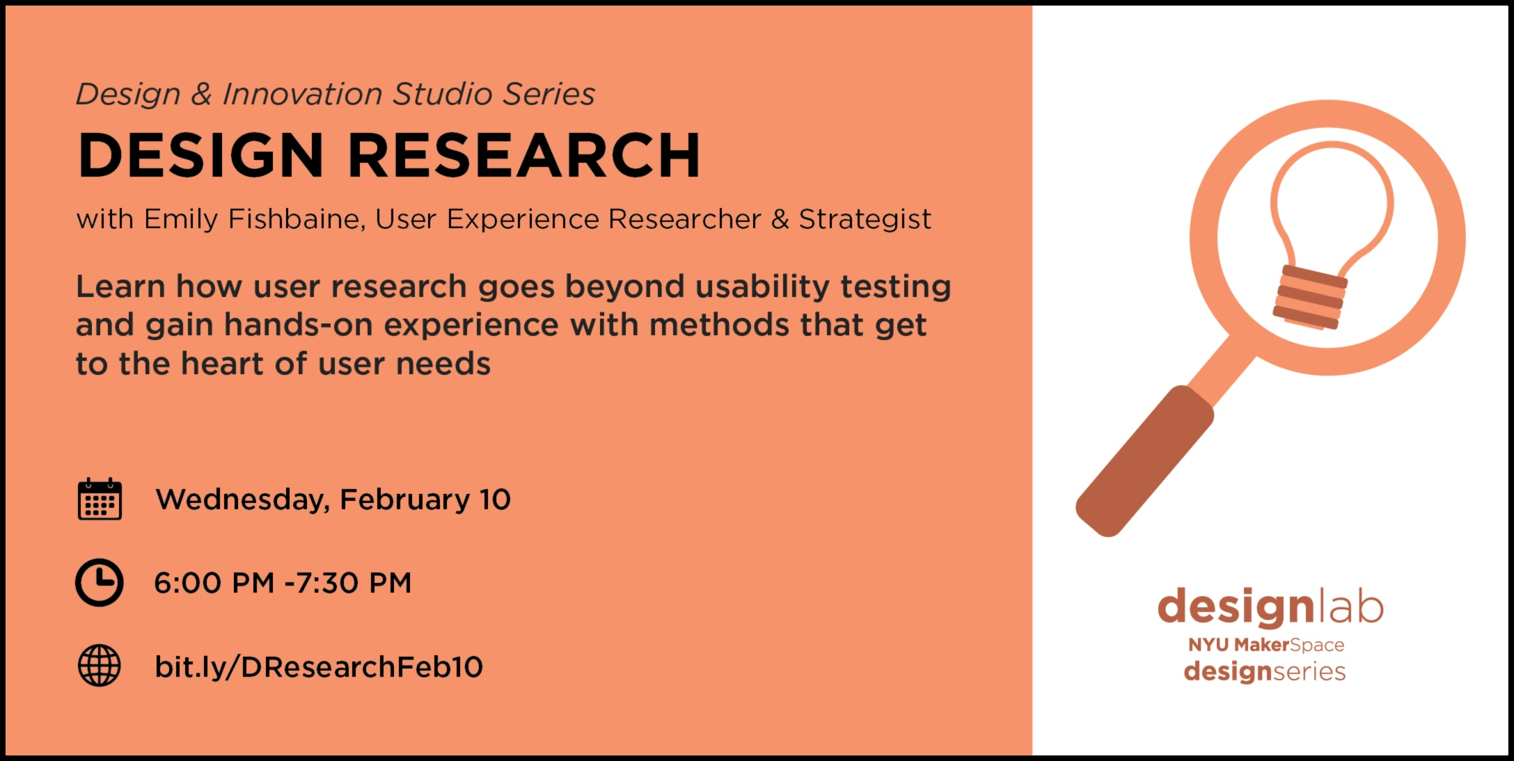 design research - flyer