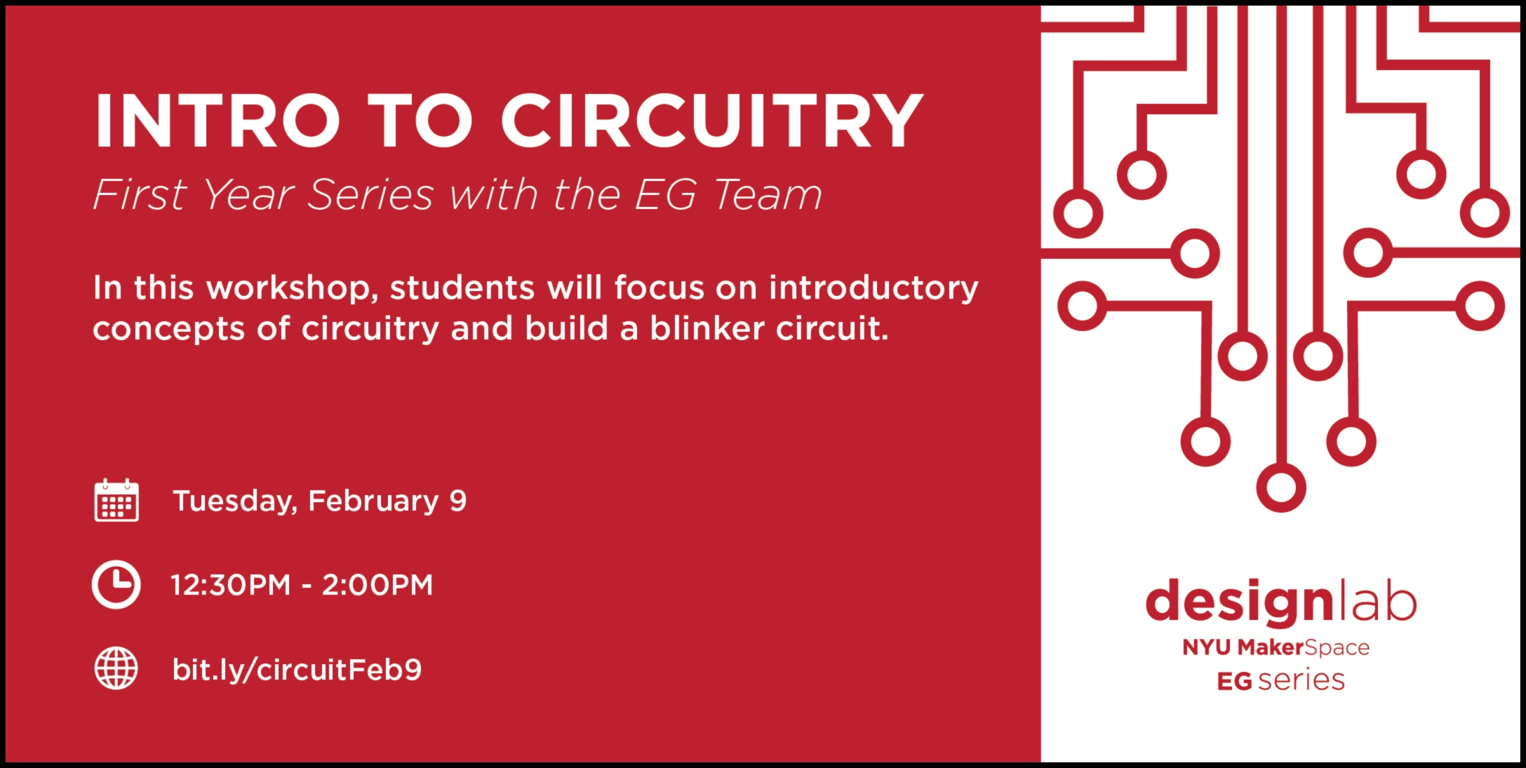 intro to circuitry - flyer