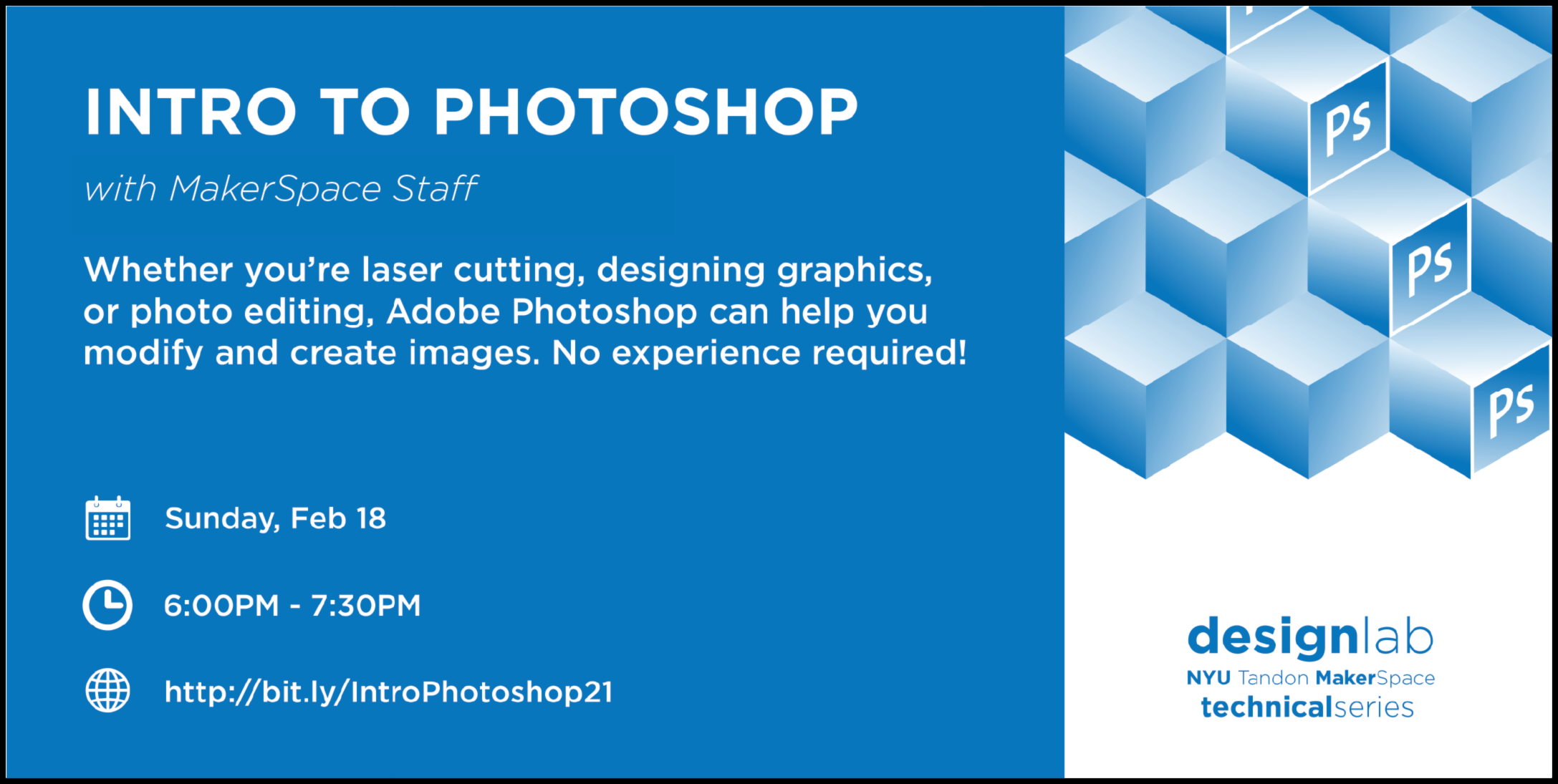 intro to photoshop flyer