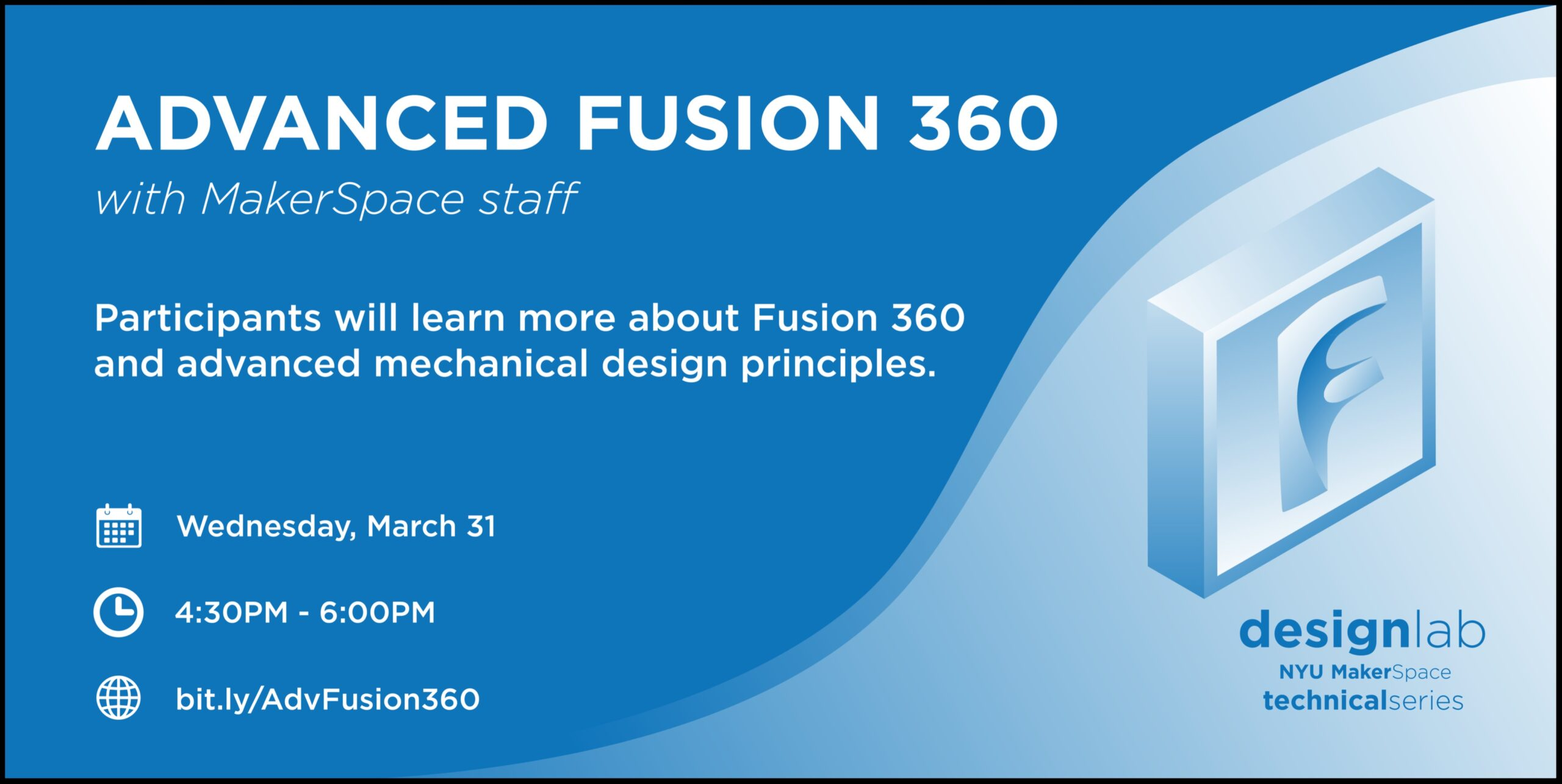 Advanced Fusion 360 Flyer