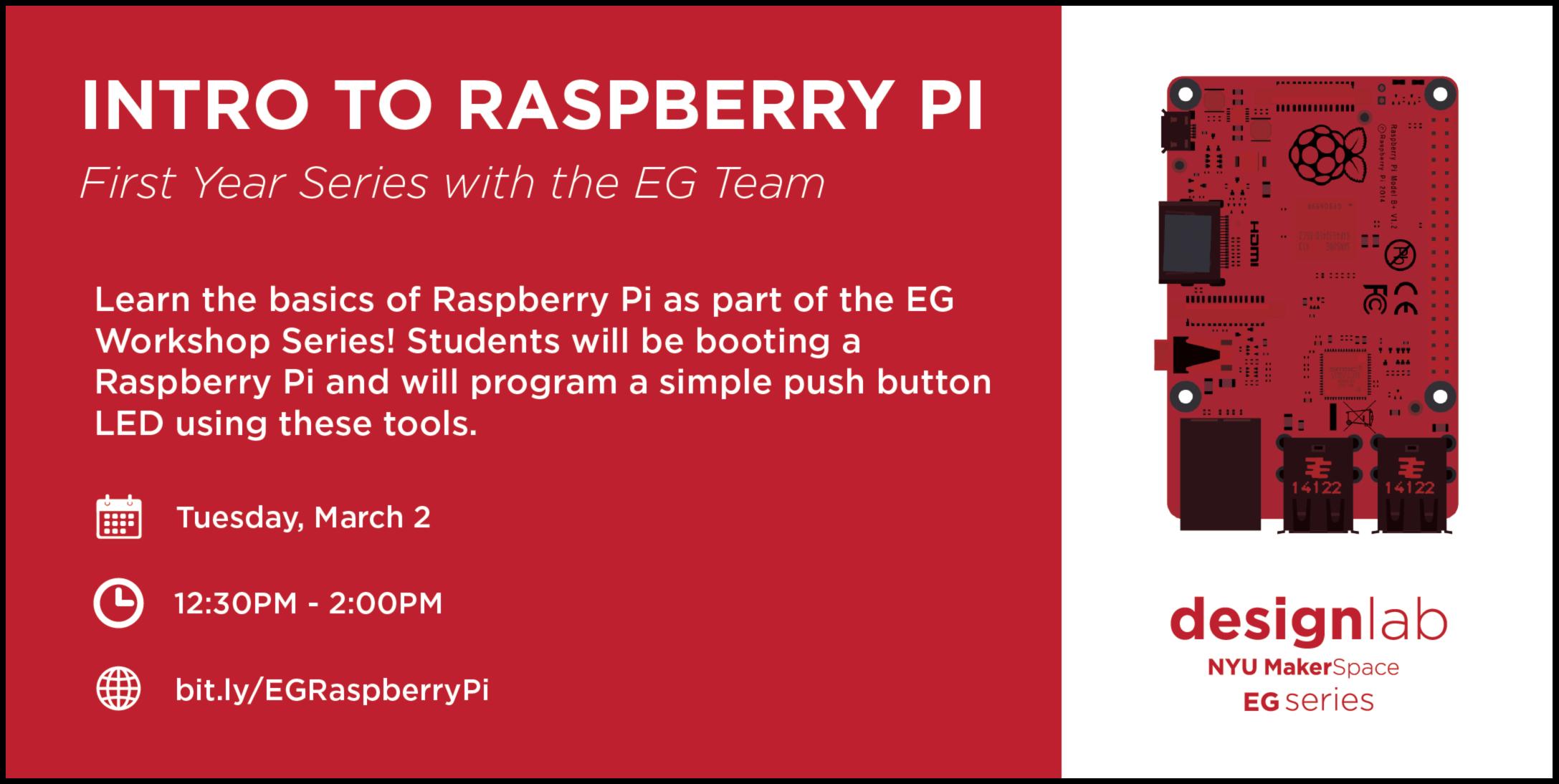 EG Raspberry Pi Flyer