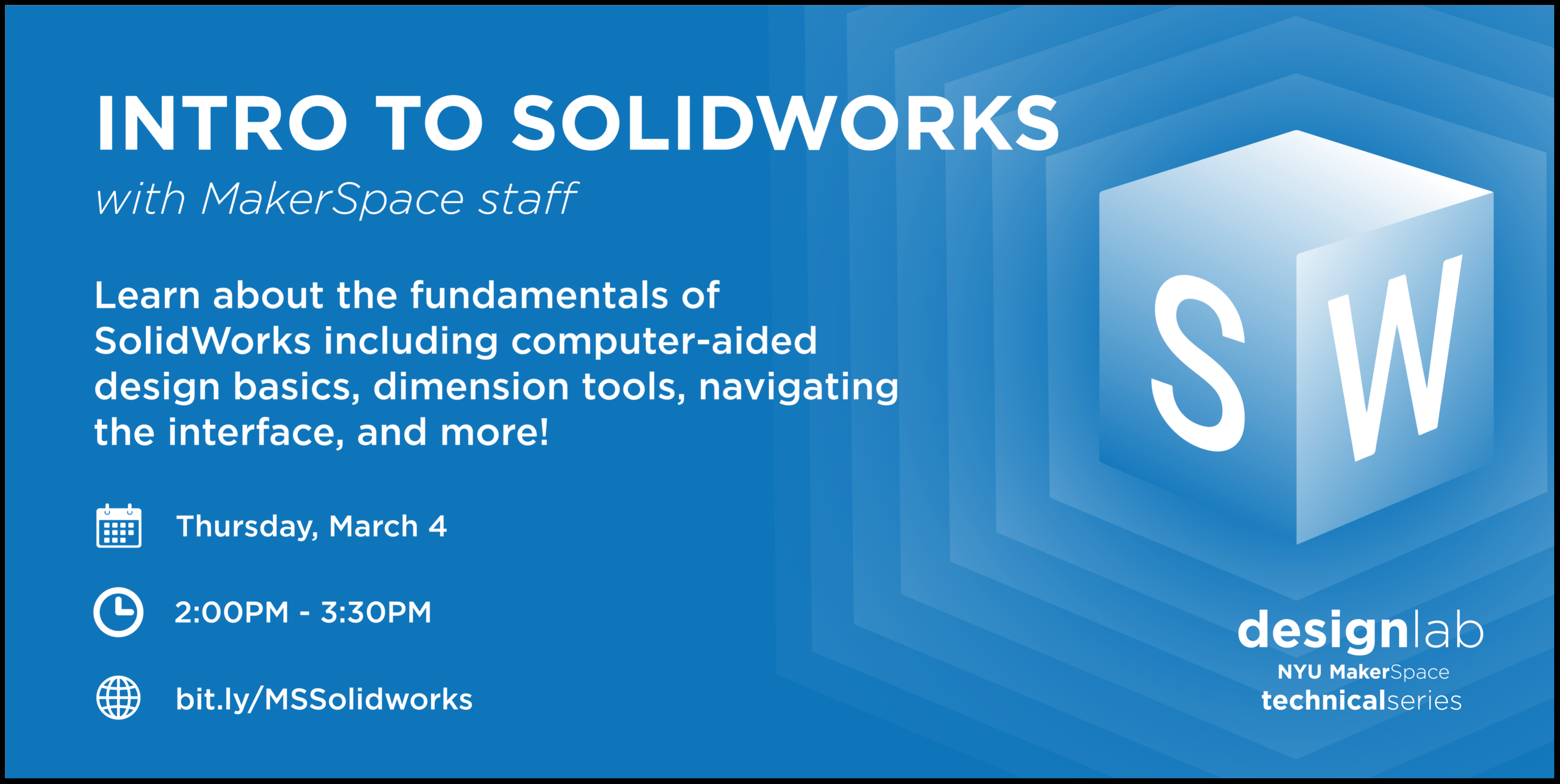 Intro to SoildWorks Flyer