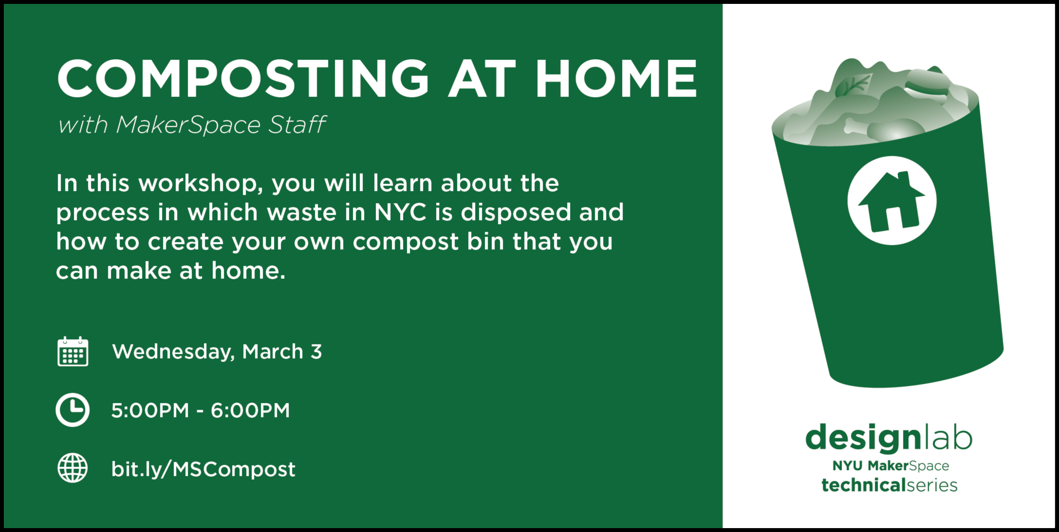 Composting at Home Flyer