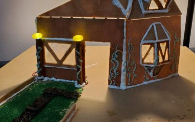 CNC Routing a Gingerbread House!