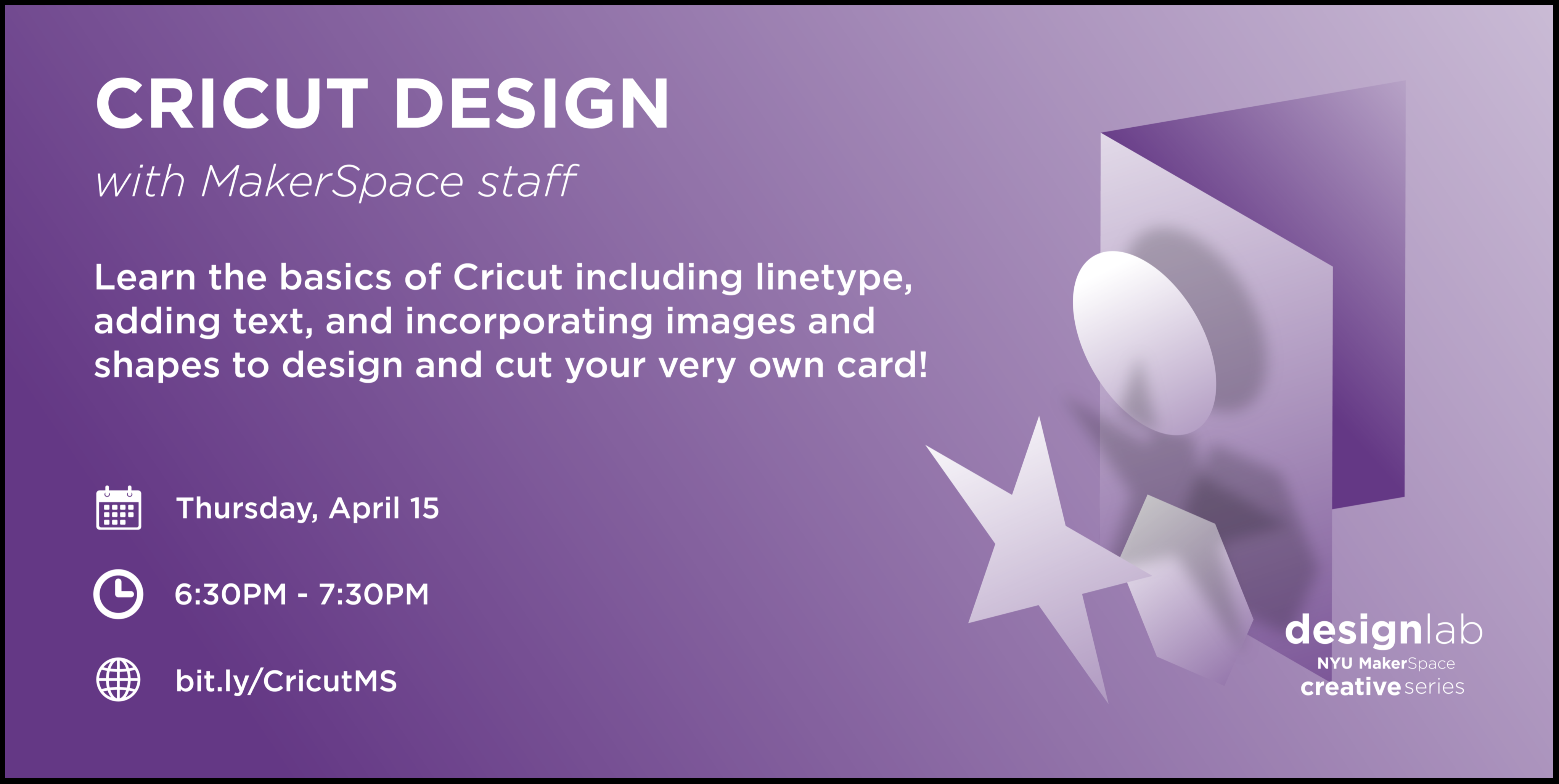 Cricut Design Flyer