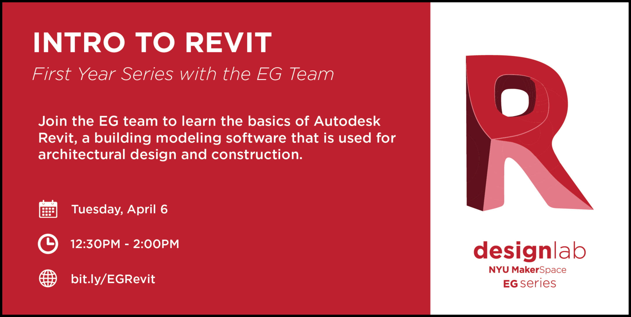 EG Intro to Revit Flyer