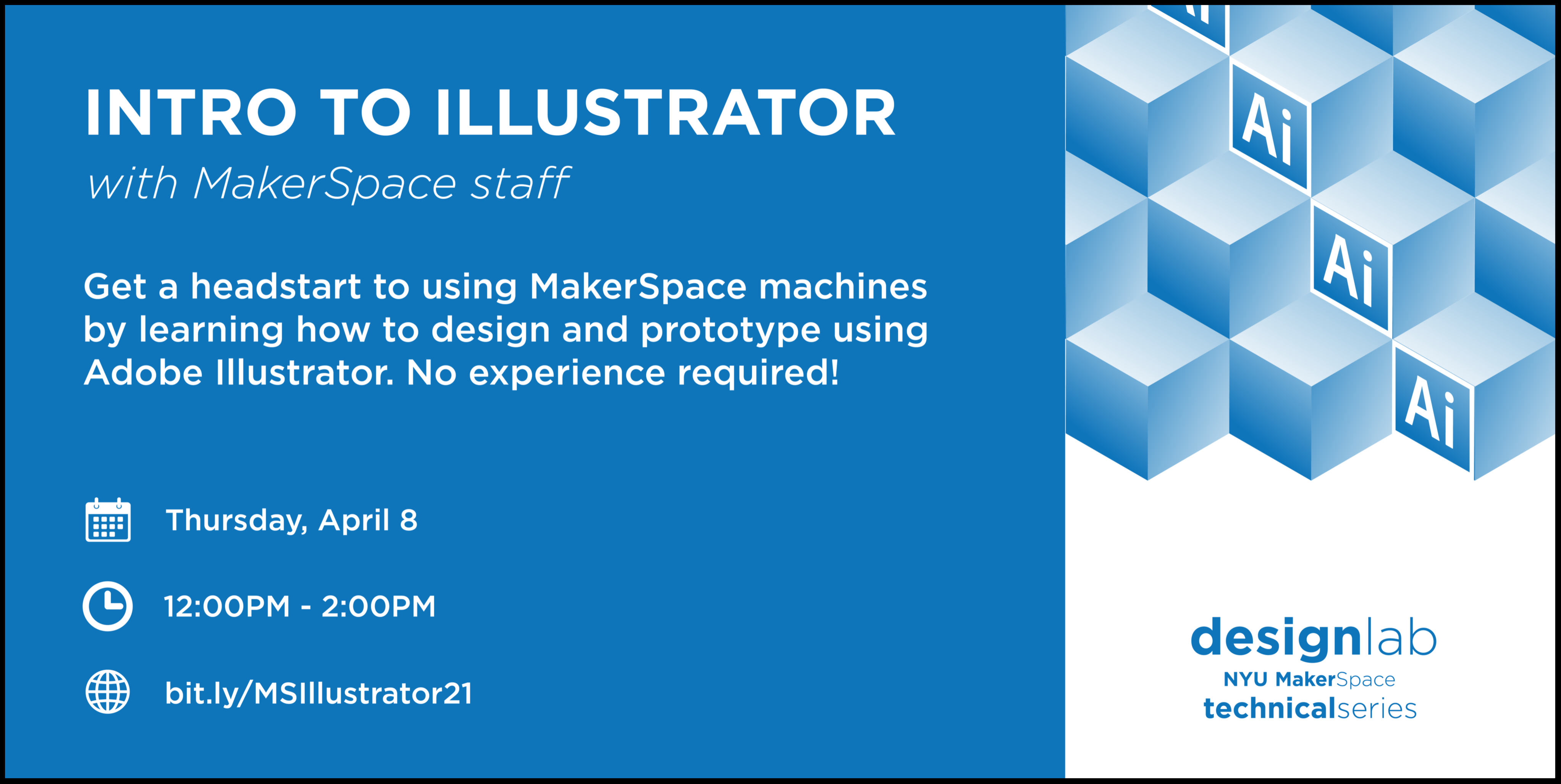 Intro to Illustrator Flyer