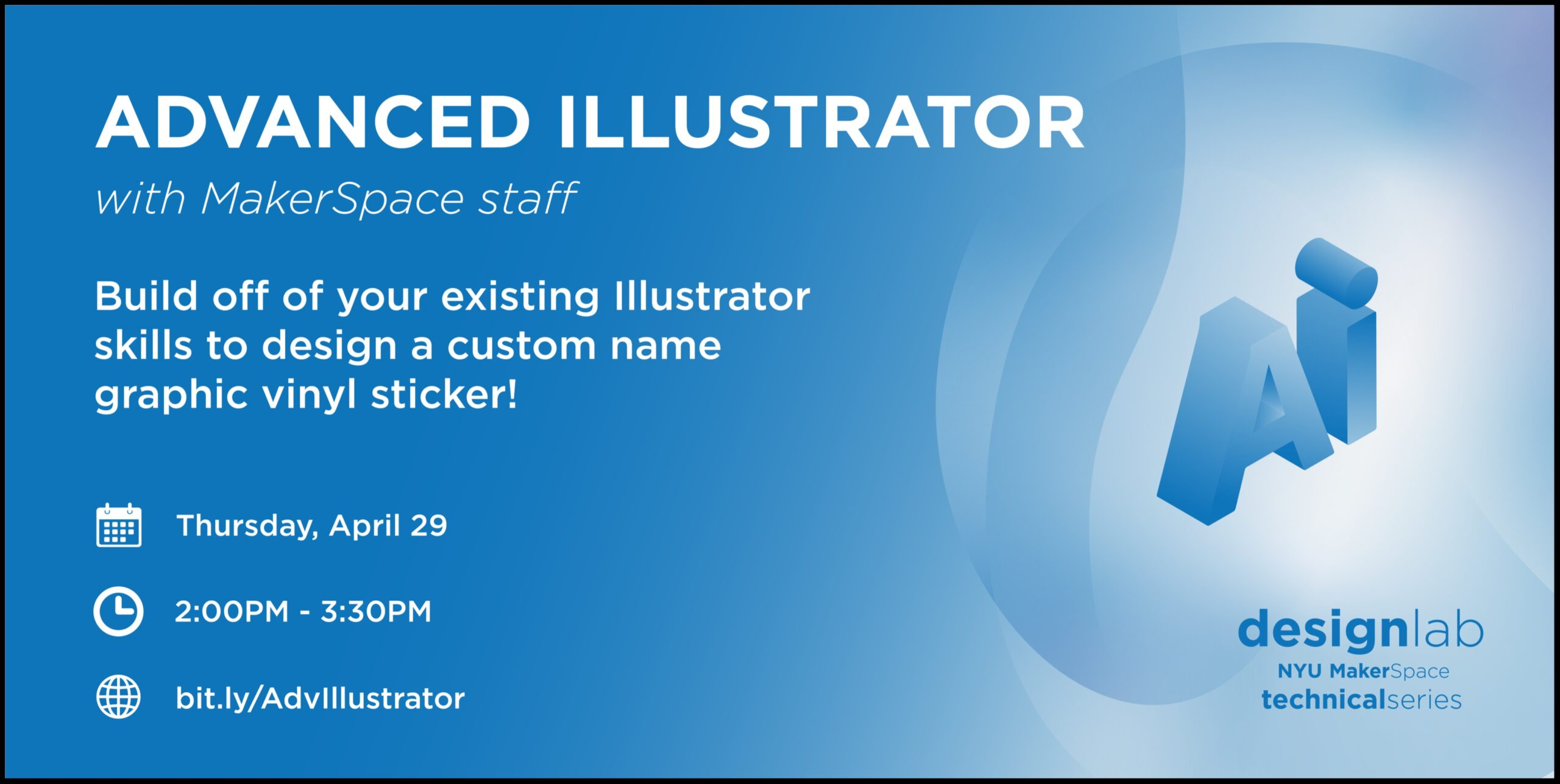 Advanced Illustrator Flyer