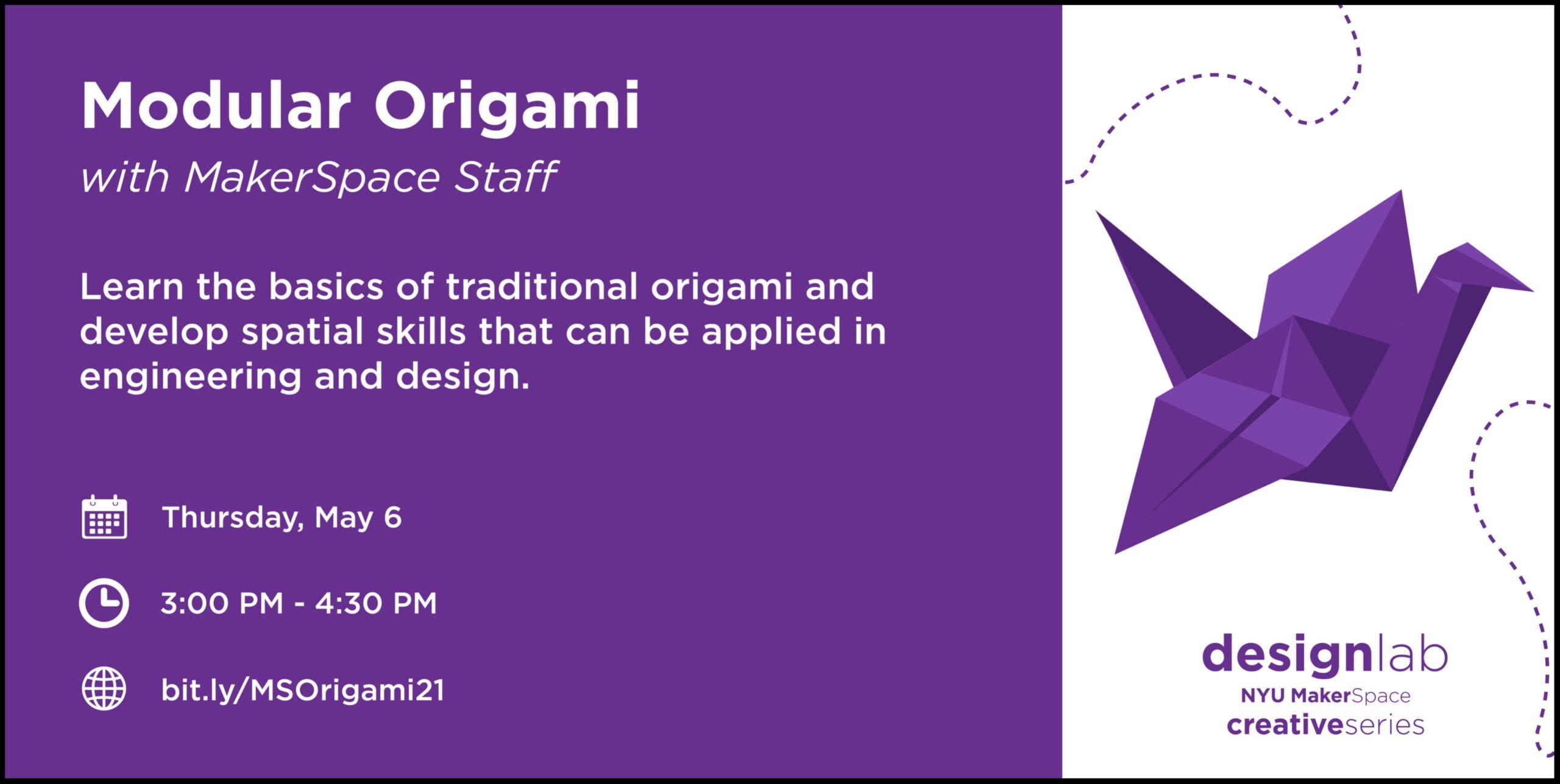 Modular Origami Flyer